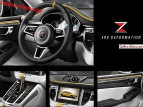 Interior Zotye SR9 Deformation