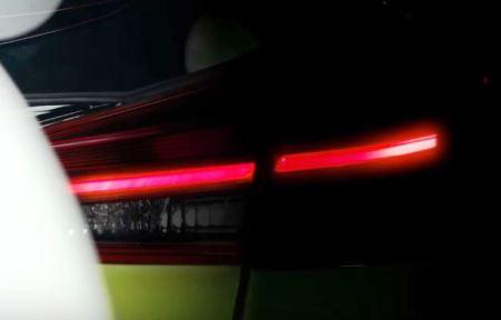 Bagian belakang Teaser Toyota Yaris 2018
