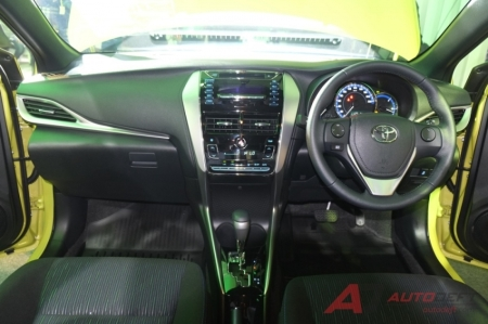 Dashboard Yaris 2018