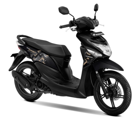 New Honda BeAT POP eSP Acoustic Black