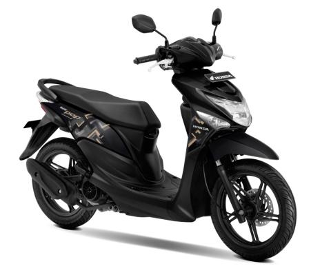New Honda BeAT POP eSP Acoustic Black