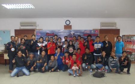 Foto bersama Komunitas Honda
