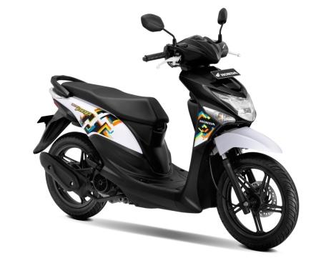 New Honda BeAT POP eSP Harmony Black White