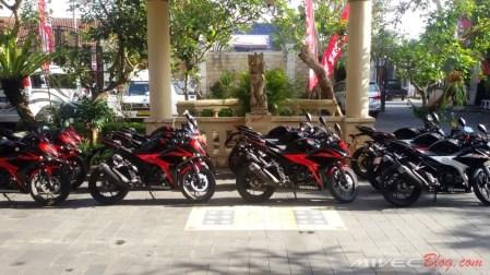 30 Honda CBR150R siap digeber