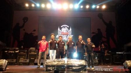 Jajaran Manajemen AHM Membuka Puncak Acara HBD 2017