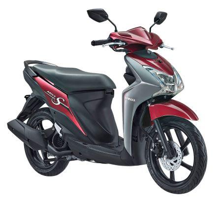 Mio S Tubeless & Ban Lebar 125cc Blue Core Spirit Red