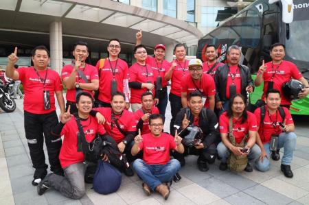 Para Peserta Honda Asian Journey 2017