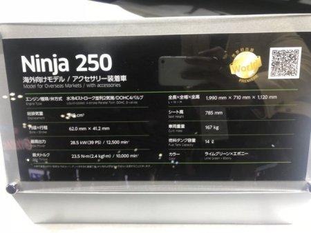 Spek New Ninja 250
