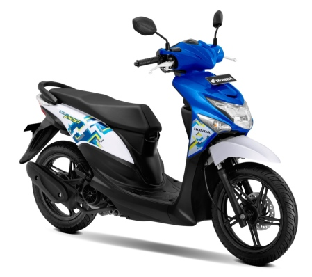 New Honda BeAT POP eSP Symphony Blue White