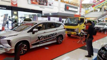 Mitsubishi Xpander Mejeng di Kepri Mall Batam
