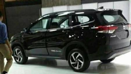 Bocoran All New Toyota Rush 2018 - Tampak Samping