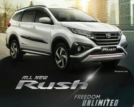 Launching All New Toyota Rush