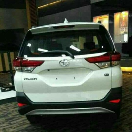 Bocoran All New Toyota Rush 2018 - Tampak Belakang
