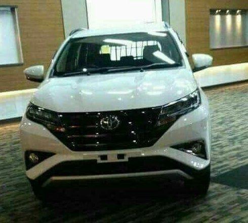 Bocoran ALl New Toyota Rush 2018 - Tampak Depan