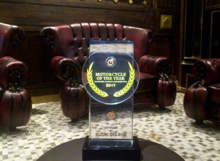 Suzuki GSX-R150 sebagai Best Motorcycle 2017