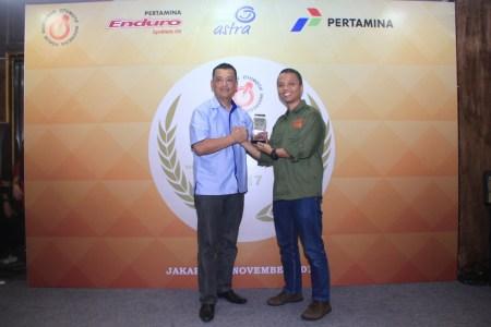 Penghargaan Best Motorcycle 2017 dari FORWOT
