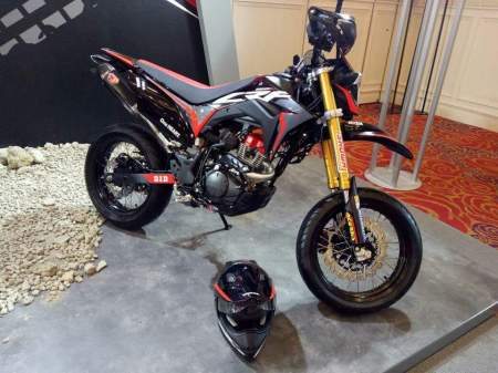 CRF150L Custom Supermoto