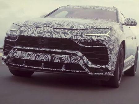 Teaser & Spyshot Lamborghini Urus