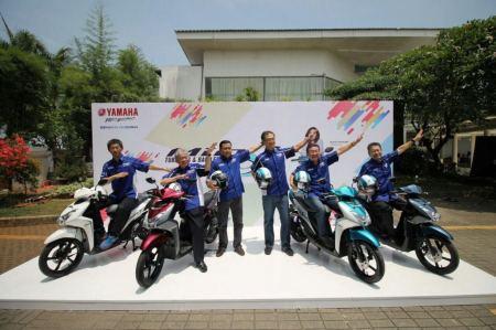 Yamaha menjadi Motor Paling Membahagiakan versi IKB 2017