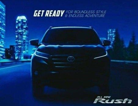 Teaser All New Toyota Rush 2018