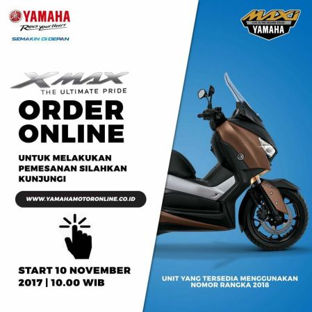 #XOD (XMAX Order Online Day) November 2017
