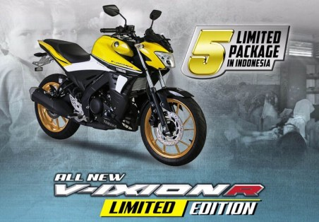 Yamaha Vixion 1 Dekade