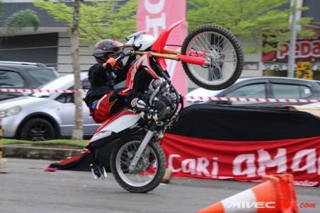 Sesi Test Ride Honda CRF150L di Batam