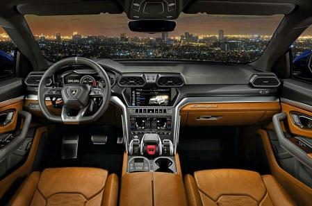 Dashboard Lamborghini Urus