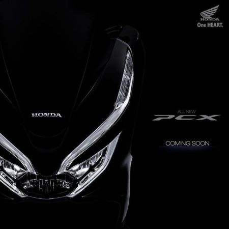 Teaser All New PCX Indonesia