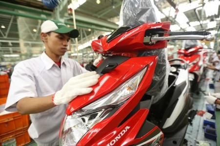 Proses perakitan New Honda BeAT eSP