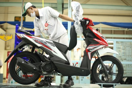 Inspeksi New Honda BeAT eSP