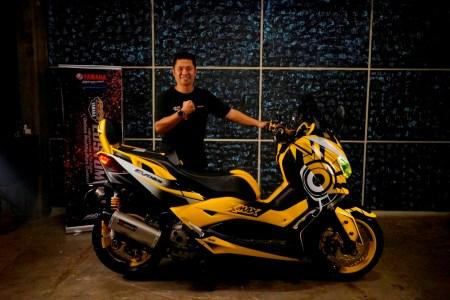 Imran Syukri pemenang kelas Xmax semifinal CustoMAXI Makassar