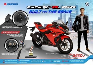 Suzuki GSX-R150 Shuttered Key System (7)