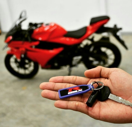 Suzuki GSX-R150 Shuttered Key System (8)