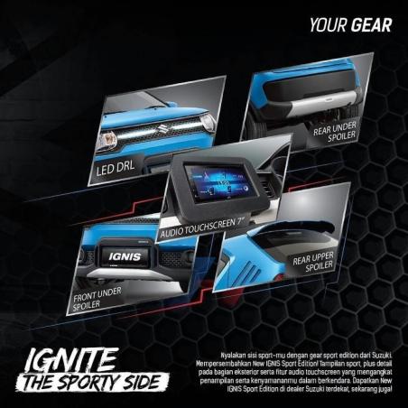 Fitur Baru Suzuki Ignis Sport Edition (2)
