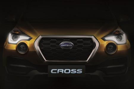 Teaser Datsun Cross