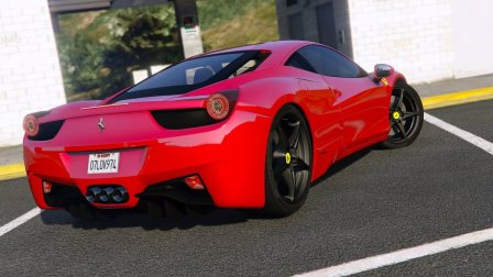 Ferrari 458 Italia, salah satu hasil dari Pininfarina
