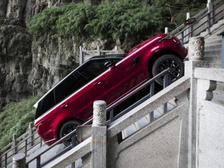 Range Rover Sport Taklukkan Heaven's Gate