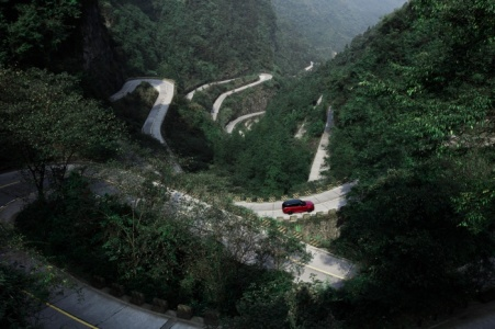 Tianmen Mountain Road