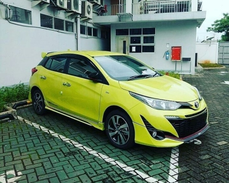 Spyshot Toyota Yaris Facelift 2018