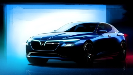 Desain VinFast Sedan