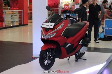 All New PCX Merah