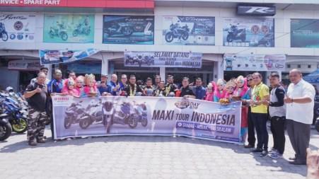MAXI Yamaha Tour de Indonesia di dealer Alfa Scorpii Jambotape di Aceh