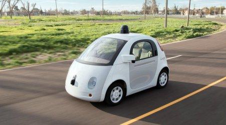 Mobil tanpa pengemudi Google