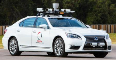 Chauffeur, Mobil otonom Toyota