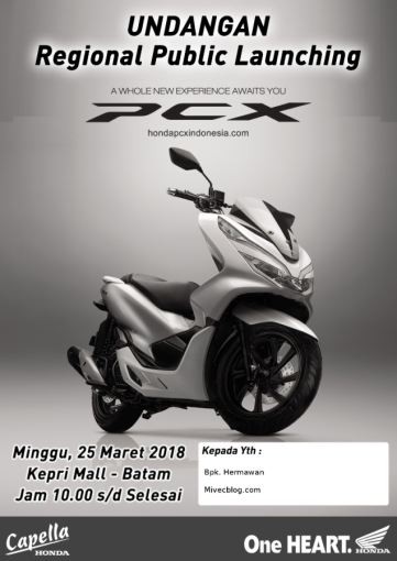 Launching All New PCX di Batam
