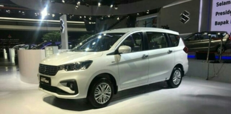 Launching All New Ertiga di IIMS 2018