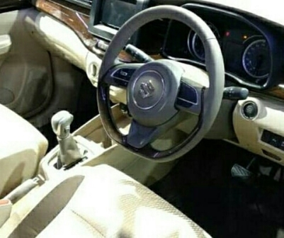 Dashboard All New Ertiga