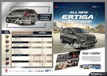 Spesifikasi All New Ertiga Indonesia (2)