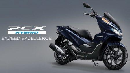 All New PCX Hybrid